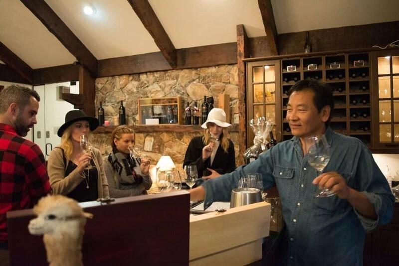 Carlos at Blackwood Lane Winery