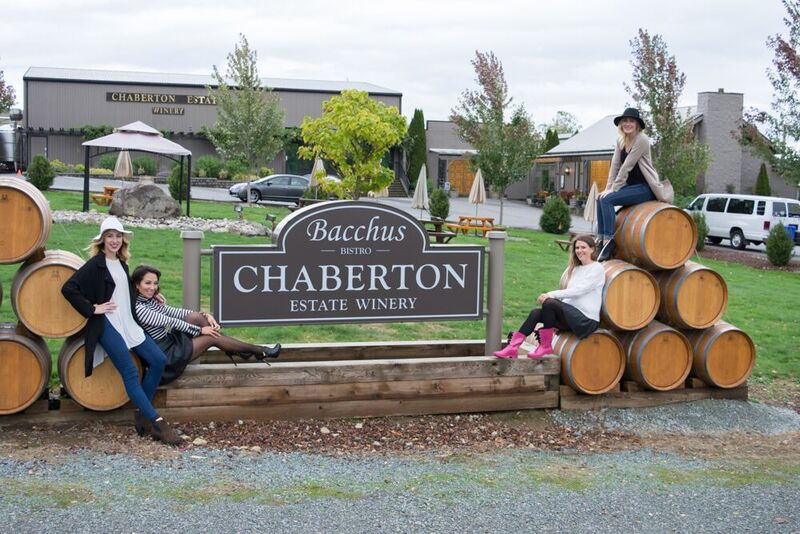 Mine & Yours and A Glass of Style at Chaberton Estate Winery