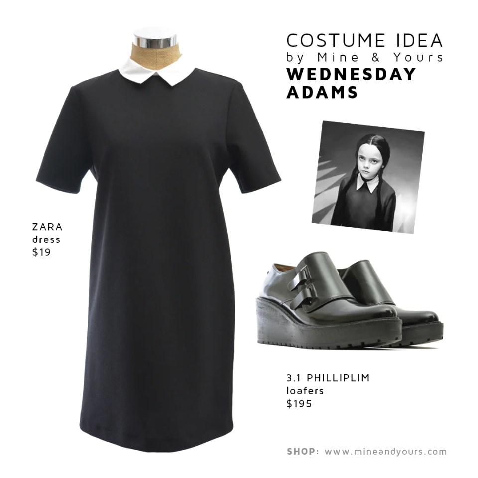 Wednesday Adams Costume