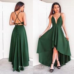 Small Crop Of Emerald Green Dress