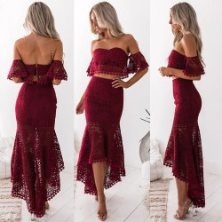 Small Of Two Piece Dress