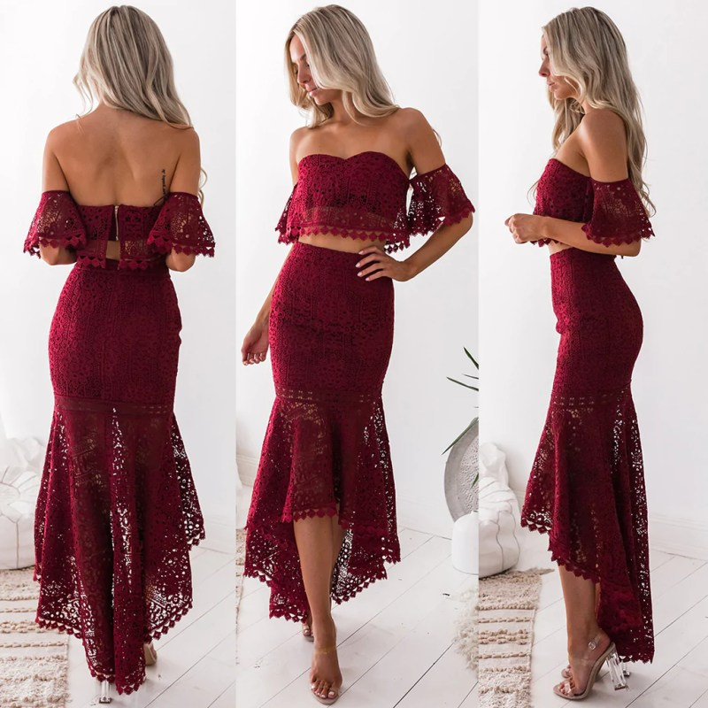 Large Of Two Piece Dress