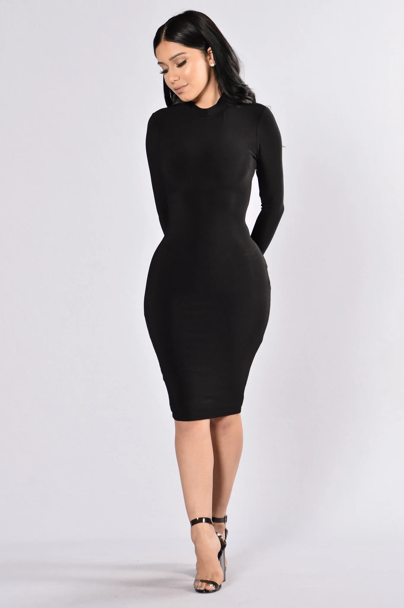 High On Life Dress - Black
