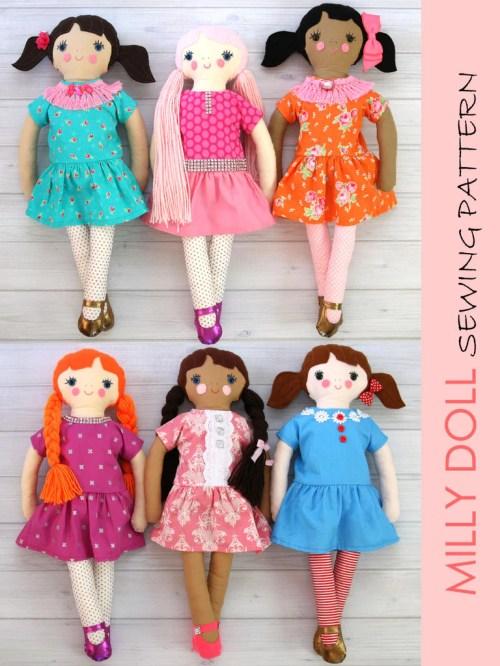 Medium Of 18 Inch Dolls