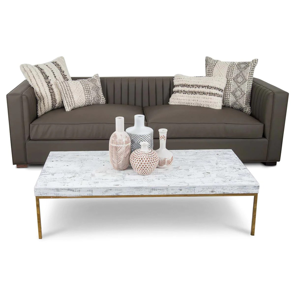 Fullsize Of Faux Leather Couch