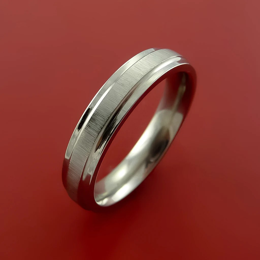 titanium modern wedding band engagement rings made to any sizing 3 22 modern wedding rings