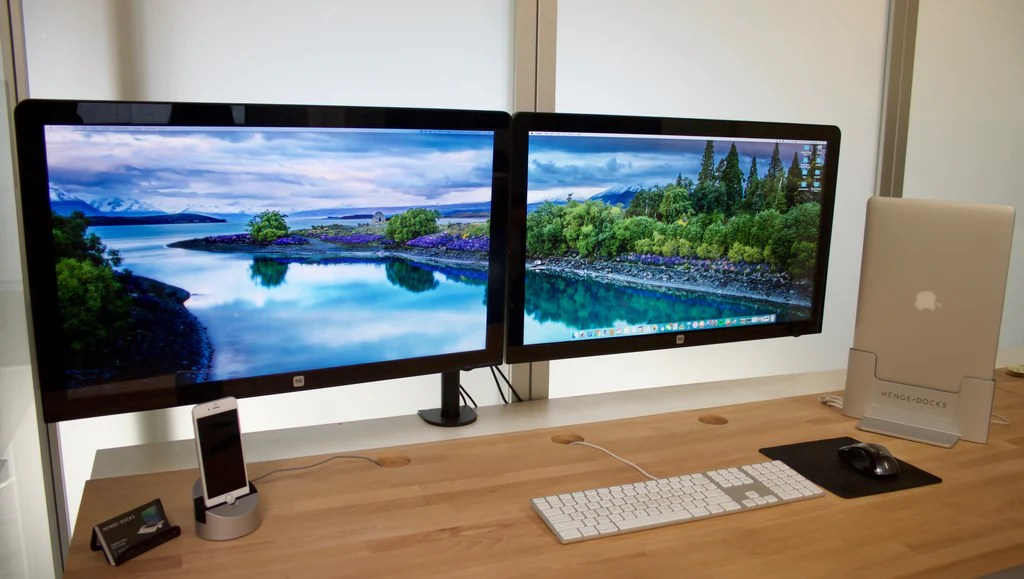 How to Setup Dual Monitor Wallpaper – Henge Docks