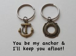 Shapely Bronze Anchor Lifesaver Ring Keychain Set Bronze Anchor Lifesaver Ring Keychain Set Jewelryeveryday Key Chain Rings Amazon Key Chain Rings Michaels