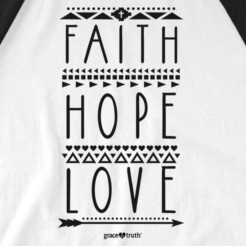 Large Of Faith Hope Love