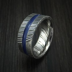 Small Of Thin Blue Line Ring
