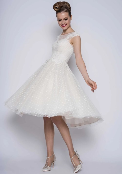 Medium Of Short Wedding Dresses