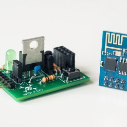 ESP8266 Adapter and Breakout Board Kit (Includes ESP8266-01) - DIY