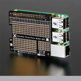 Hackaday Perma-Proto Black Hat for Raspberry Pi Mini Kit - With EEPROM