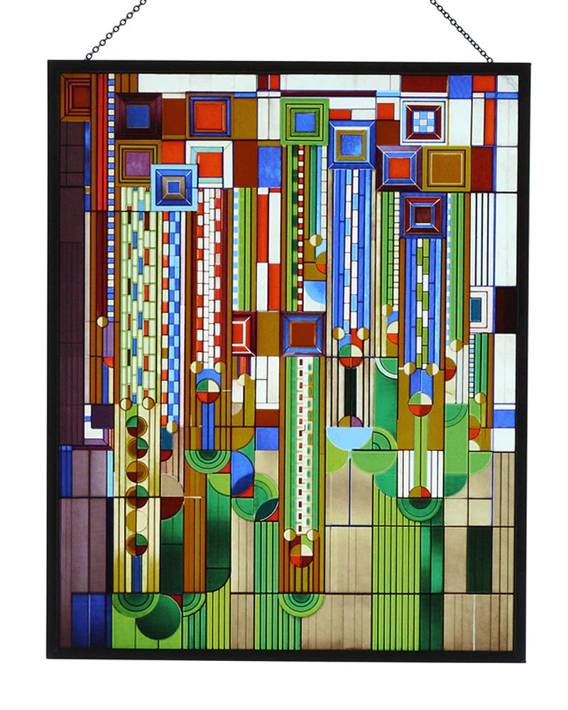 Large Of Frank Lloyd Wright Stained Glass