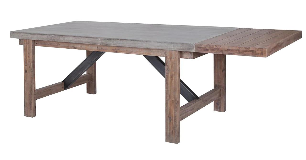 vega concrete dining table concrete kitchen table Vega Concrete Dining Table 71 Tables Furniture Maison