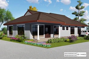 4 Bedroom House Plan Id 14402