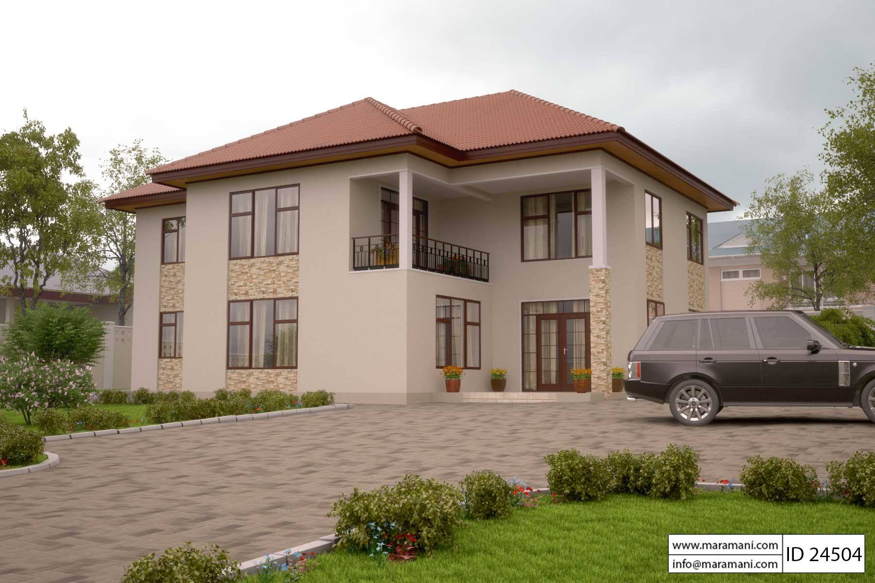Fullsize Of 4 Bedroom House