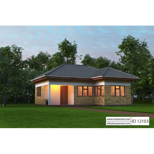 Medium Crop Of Two Bedroom House Plans