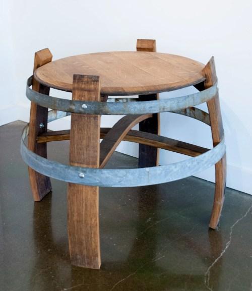 Medium Of Wine Barrel Table