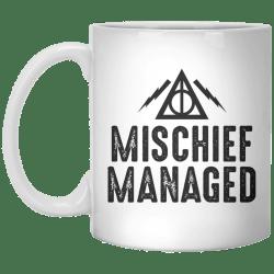 Small Crop Of Mischief Managed Mug
