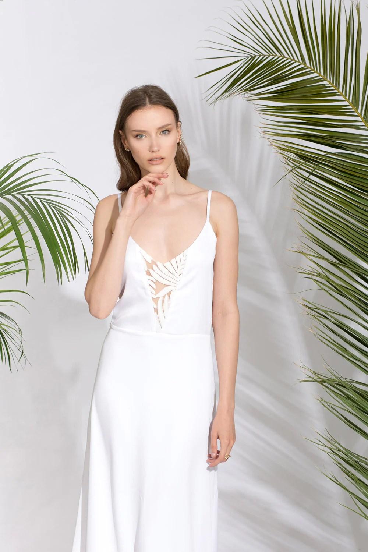 simple beach wedding dresses simple beach wedding dresses Christos Wedding Dress