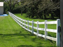 Invigorating Hollow Rails Thatresemble Wooden Rails Snap Into Vinyl Horse Options What To Consider When Buying Horse Fencing Referred To As Pvc Consists Vinyl