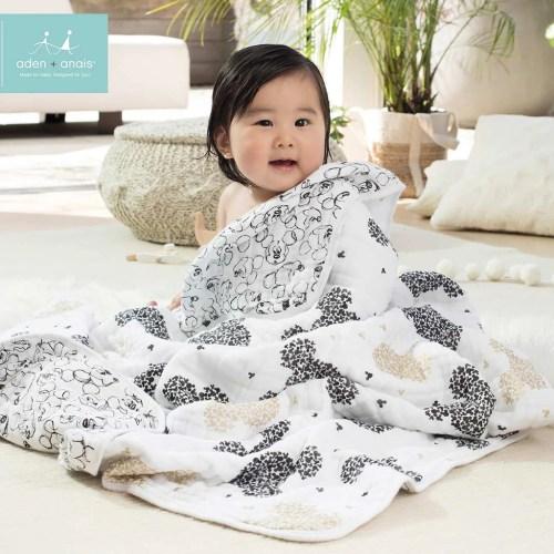 Medium Of Aden And Anais Dream Blanket