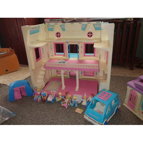 Medium Crop Of Fisher Price Dollhouse