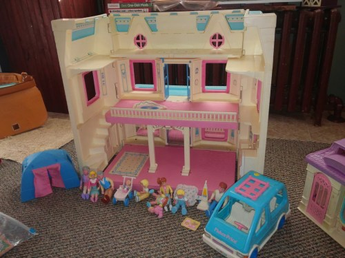 Medium Of Fisher Price Dollhouse