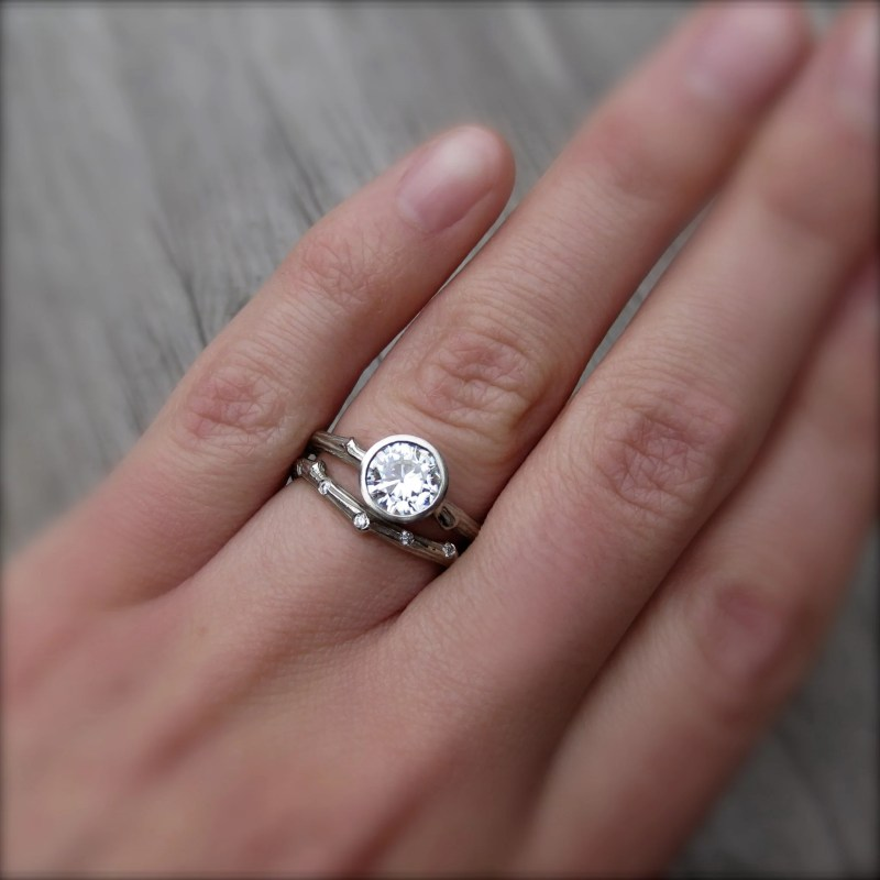 Large Of Engagement Ring Finger