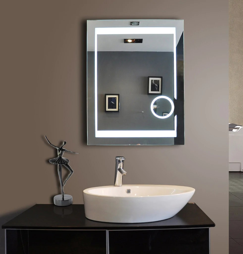 Showy Where To Install Your Lighted Mirror Ib Mirror Lighted Bathroom Mirror Costco Lighted Bathroom Mirror Menards houzz-03 Lighted Bathroom Mirror