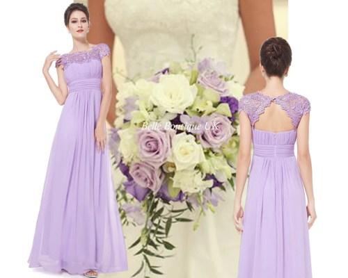 Great Katie Lilac Belle Boutique Uk Katie Lilac Long Lace Chiffon Bridesmaid Wedding Evening Prom Dress Lilac Bridesmaid Dresses Debenhams Lilac Bridesmaid Dresses Asos
