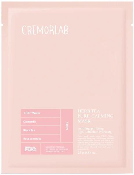 Cremorlab herb tea blemish calming mask