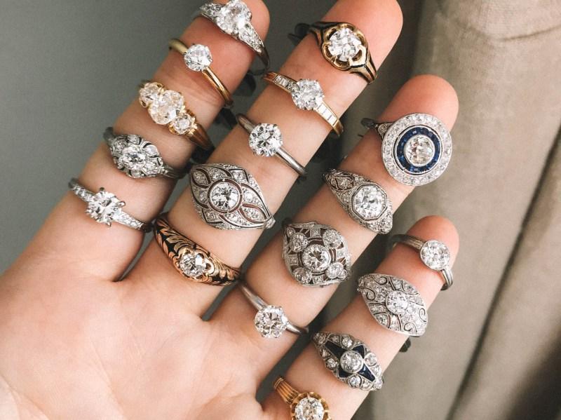 Large Of 1 Karat Diamond Ring