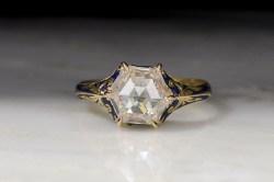 Small Of Rose Cut Diamond