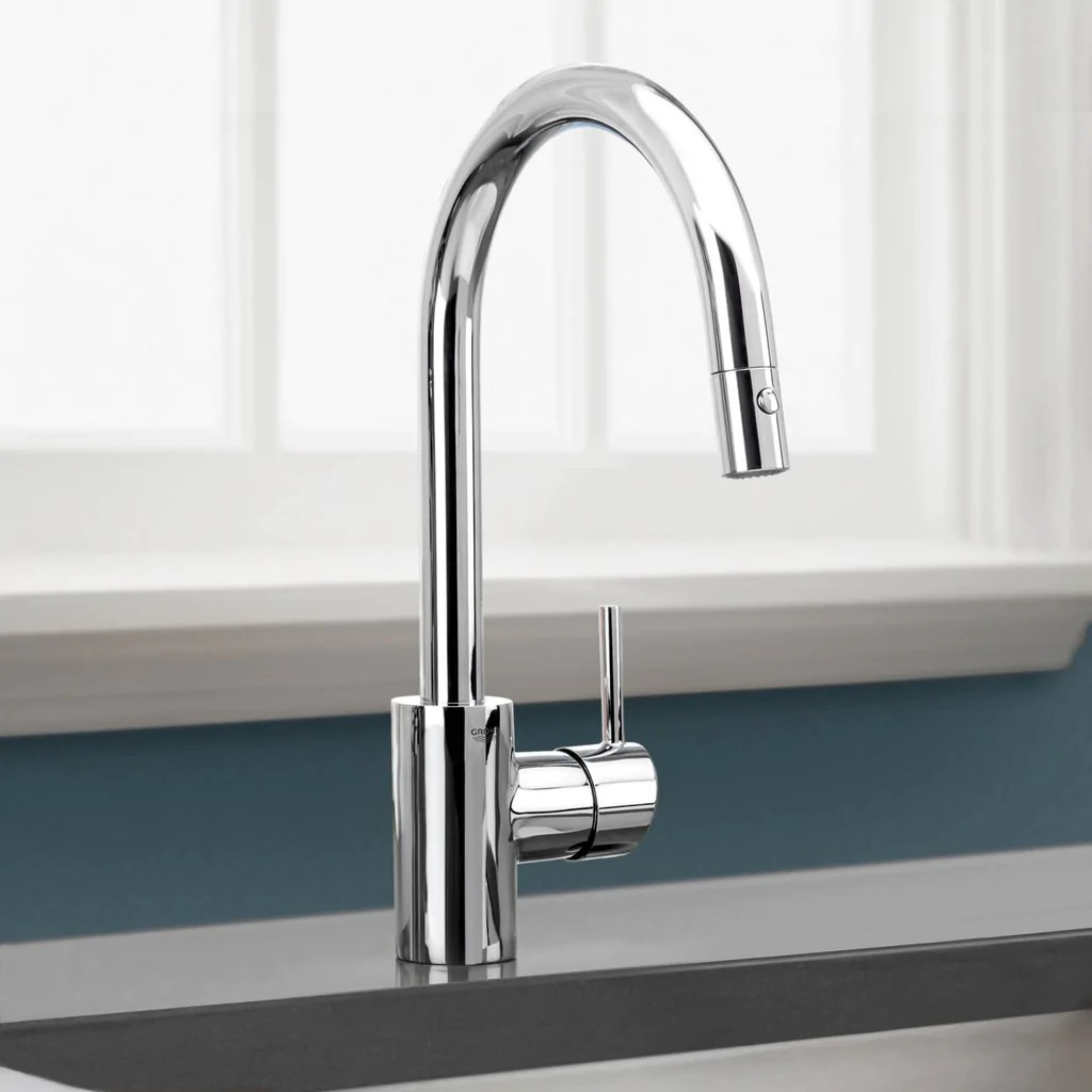 how to remove grohe kitchen faucet handle grohe concetto kitchen faucet Grohe Pull Down Spray Kitchen Faucet Mega Supply