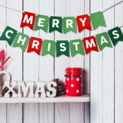 Small Of Merry Christmas Banner