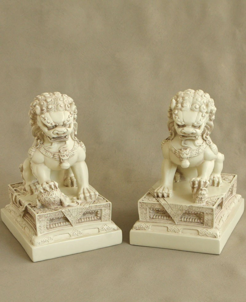 Large Of Chinese Guardian Lions