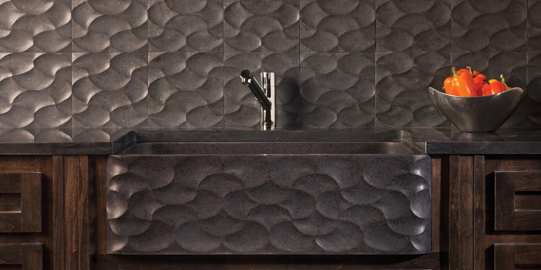 stone stone kitchen sink Refine