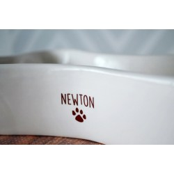 Charm Mats Personalized Dog Bowls Name Paw Print Bowl Personalized Dog Bowl Bone Shaped Bowl Personalized Dog Bowl Bone Shaped Bowl Paw Print C Personalized Dog Bowls Name