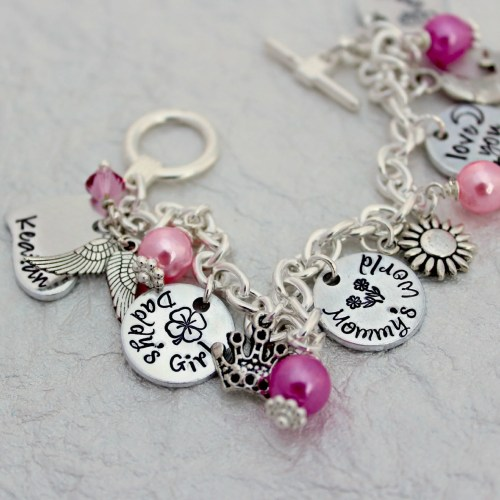 Medium Of Custom Charm Bracelets