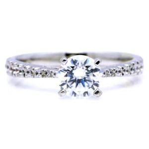 Grande Carat Diamond 1 Carat Diamond Ring On Hand 1 Carat Diamond Worth Carat Diamond Centerstone Carat Classic Solitaire Diamond Engagement Classic Solitaire Diamond Engagement