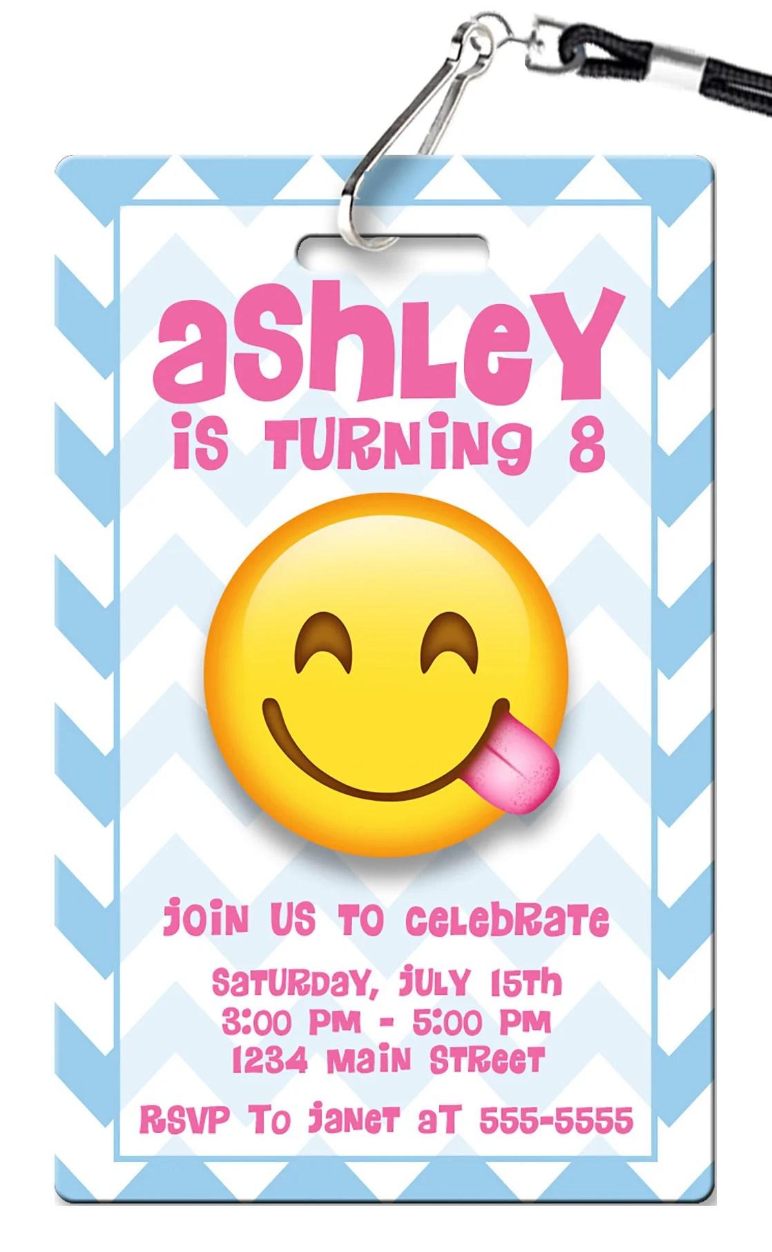 Gracious Emoji Birthday Invitation Emoji Birthday Invitations Pvc Invites Vip Birthday Invitations Emoji Birthday Invitations Online Emoji Birthday Invitations To Print invitations Emoji Birthday Invitations