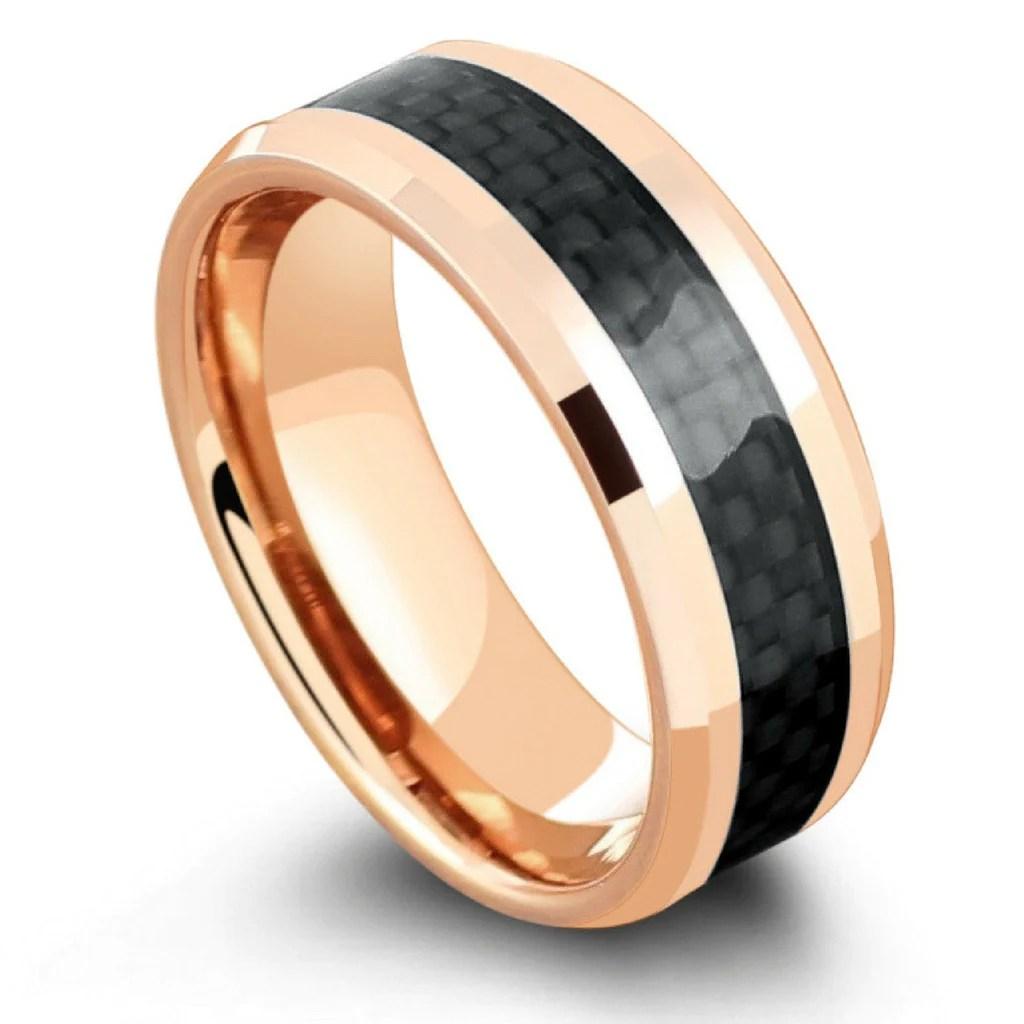 carbon fiber wedding ring Open Image