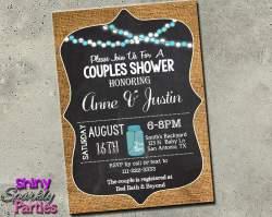 Deluxe Couples Shower Chalkboard Invitation Printable Digital File Only Digital Download Printable File Invitation 2048x Couples Wedding Shower Invitations Invitations Couples Shower Invitation Burlap