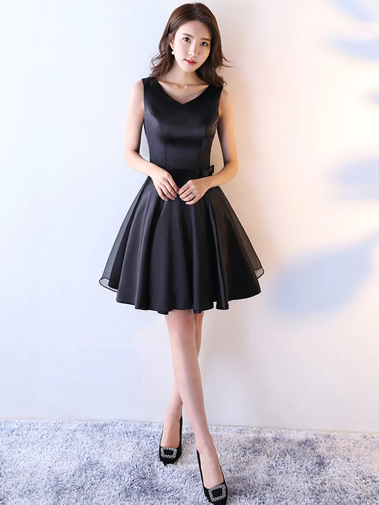 Fullsize Of Black Homecoming Dresses