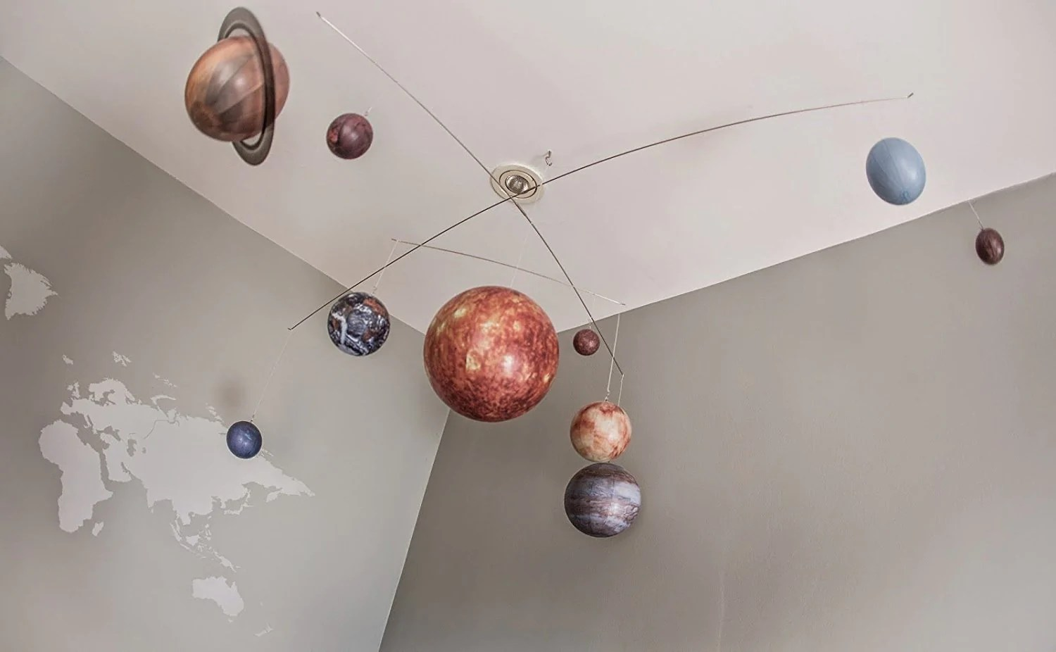 Engaging Scaled Planets Solar System Mobile Gogetglam Boho Style Scaled Planets Solar System Mobile Solar System Mobile Charger Solar System Mobile Light baby Solar System Mobile