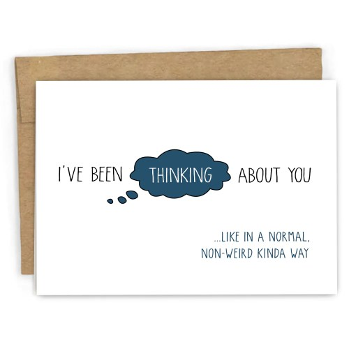 Medium Of Thinking Of You Cards