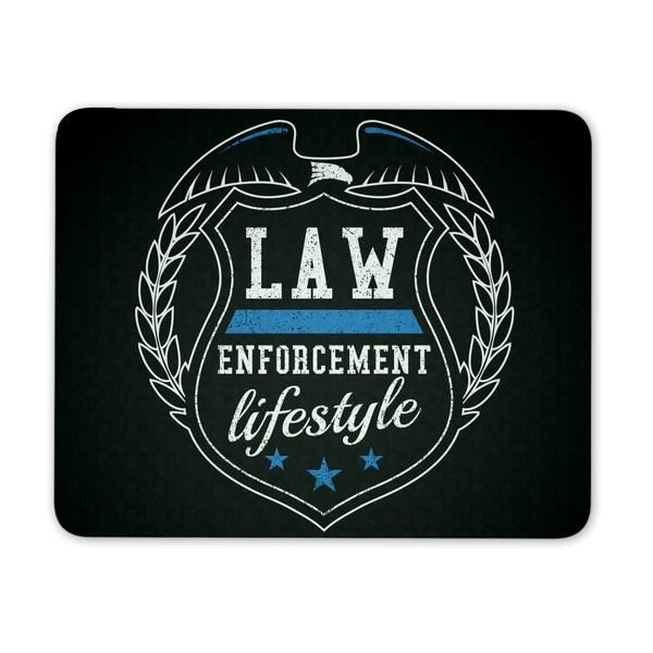 LEL Shield Mousepad – Law Enforcement Lifestyle