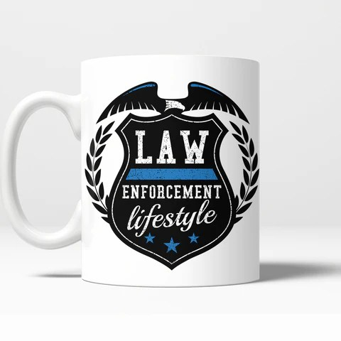 LEL Shield Mug – Law Enforcement Lifestyle
